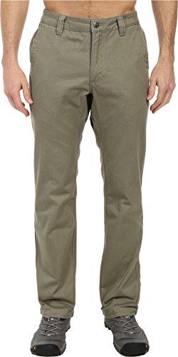 Teton Twill Pant - Mountain Khakis Men's Teton Twill Pant Slim Fit, Olive, 36-Width 34-Length