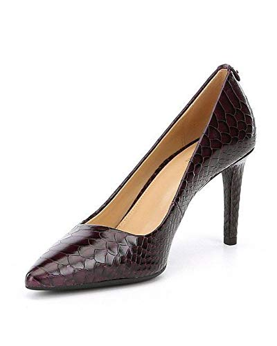 8a271450d172 Image Unavailable. Image not available for. Color  Michael Kors Womens  Dorothy Leather Pointed Toe Classic Pumps ...