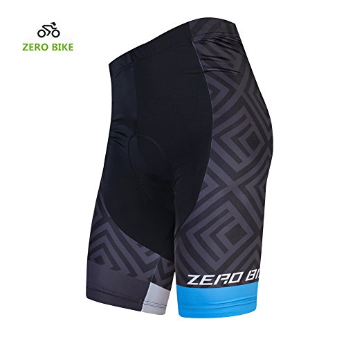 ZEROBIKE Men's Short Comfortable Bicycle Cycling Pants Gel Padded Bike Shorts