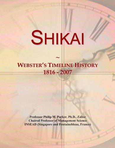shikai-websters-timeline-history-1816-2007