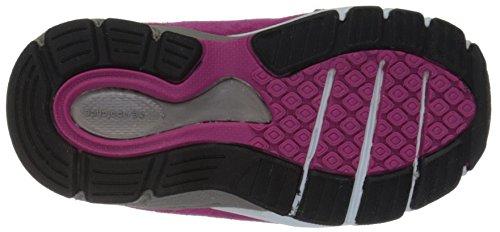 Latéral Avec En Et De Semelle Grise Synthétique Chaussure À Pink Lacets Garçon Suède Garçons pink Balance Berceau Logo Tissu New 1qOFwF