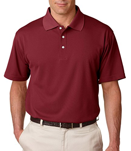 ultraclub-mens-cool-dry-stain-release-performance-polo-8445-maroon-2xl