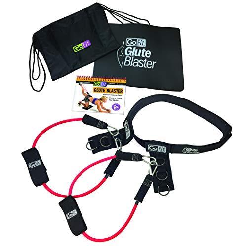 GoFit Glute Blaster Belt Kit - Resistance Workout (As Seen On Tv Booty Exercise Equipment)