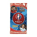 WOW! 2016 UEFA EURO France 10 Booster Packs (90 Cards Total)! Adrenalyn XL soccer cards by Panini! Collect Player Cards including Ronaldo, Bale, Benzema, Harry Kane, Ibrahimovic, Lukaku...!