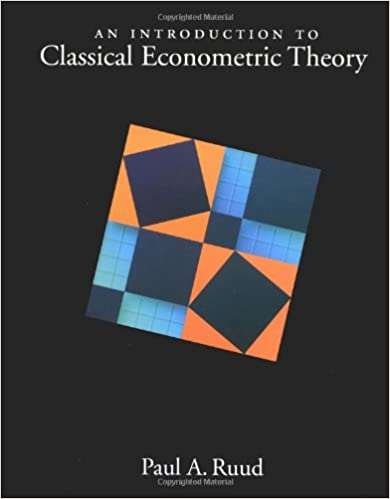 An introduction to classical econometric theory 9780195111644 an introduction to classical econometric theory 1st edition fandeluxe Choice Image
