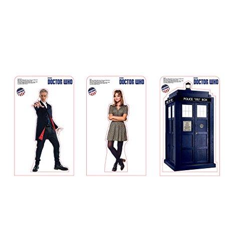 (Advanced Graphics Mini Standup Pack: The Doctor, Clara & TARDIS - BBC's Doctor Who 8 10