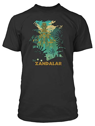 JINX World of Warcraft Visit Zandalar Men's Gamer Tee Shirt