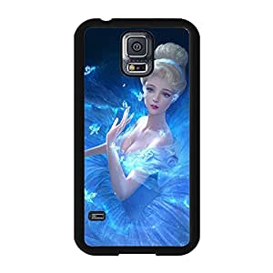 Fashionable Cinderella Princess Quotes Printed Phone Case Cover for Samsung Galaxy Note 4 Disney Cartoon