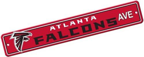NFL Atlanta Falcons Plastic Street Sign