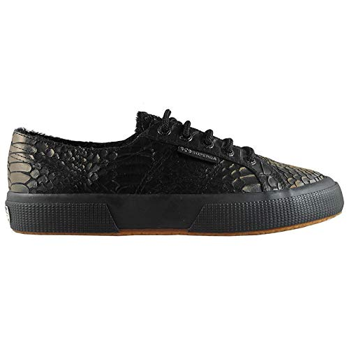 2750 Superga Shoes Synbrushedsnakew Gold Black FHOwvZxOq