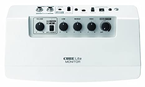 Amazon.com: Roland CUBE Lite Monitor Amplifier with Integrated iOS Interface, White: Musical Instruments