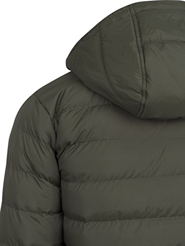 Bubble darkolive Grün Basic Uomo darkolive Urban Giacca Classics black Jacket 1165 AwRqqxE6