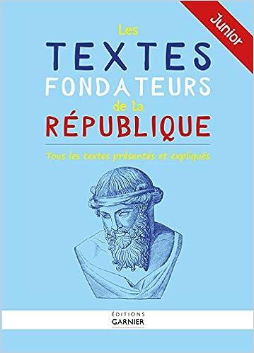 En ligne Les textes fondateurs de la République epub, pdf