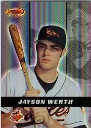 2000 Bowman's Best Baseball Card #127 Jayson Werth Mint