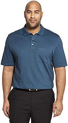 Van Heusen Mens Big and Tall Flex Short Sleeve Stretch Solid Polo Shirt