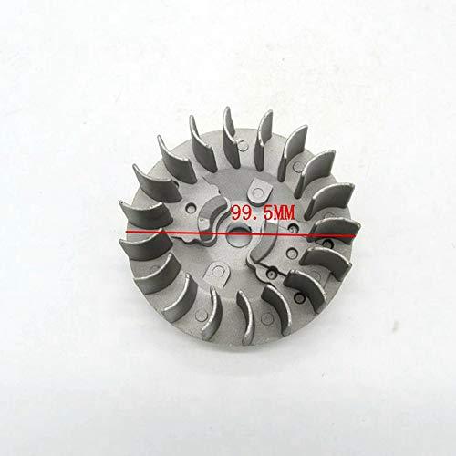 Peanutaor 47CC 49CC Mini-Poches V/élo ATV Quad Flywheel Durable Magn/étique Volant Cha/îne Scie Pi/èces Pofessional Outil Pi/èces