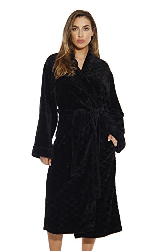 Price comparison product image Just Love 6340-Black-M Kimono Robe / Bath Robes for Women
