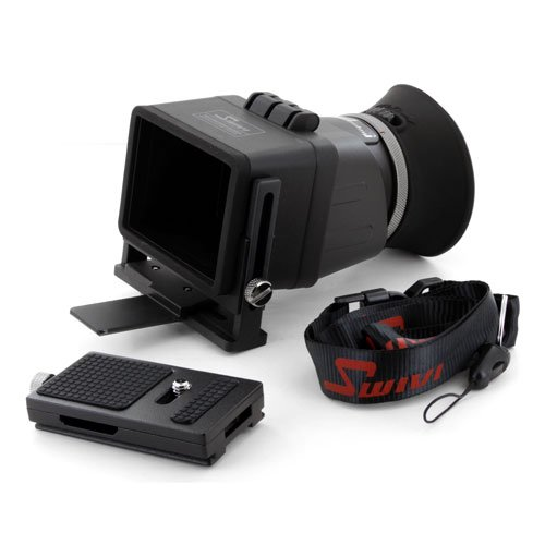 - GGS Swivi HD DSLR LCD Universal Foldable Viewfinder Version II with 3.0X Magnification