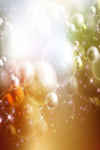GladsBuy Briliant Lights 8' x 12' Digital Printed Photography Backdrop Magic Theme Background YHA-005 by GladsBuy