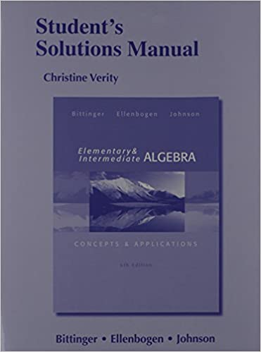 Students solutions manual for elementary and intermediate algebra students solutions manual for elementary and intermediate algebra concepts applications 6th edition fandeluxe Choice Image