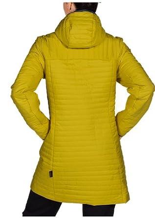 Jack Wolfskin W CLARENVILLE INSULATED COAT, Yellowgreen