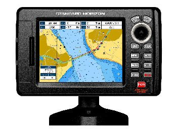 Standard Horizon CP190i 5-Inch color LCD Chartplotter with Internal GPS