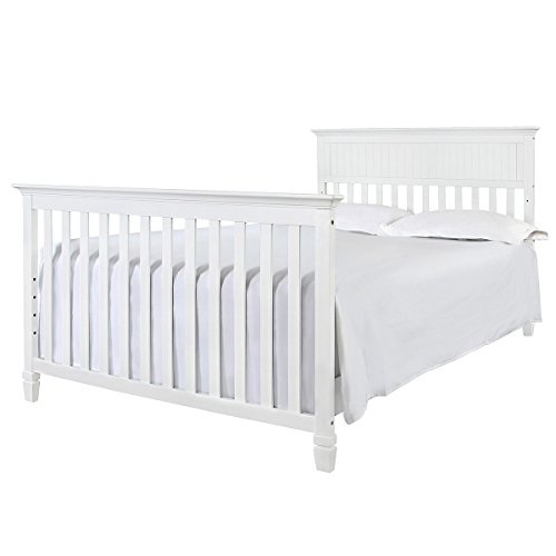 Davinci Perse 4-in-1 Crib Full Size Conversion Kit Bed Rails - White by Grow-with-Me Crib Conversion Kits (Image #1)