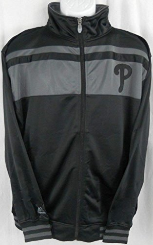 - Majestic Philadelphia Phillies MLB Licensed Embroidered Tricot Jacket Big & Tall Sizes (3XL)