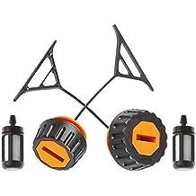 HIPA Fuel Cap + Oil Cap for STIHL 020 020T 021 023 024 025 026 028 034 034S 036 038 048 Chainsaw
