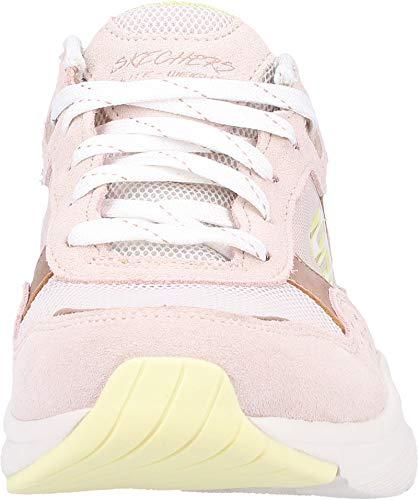 Sneaker tpyl Rosa no Donna Worries Meridian Skechers TqStBw
