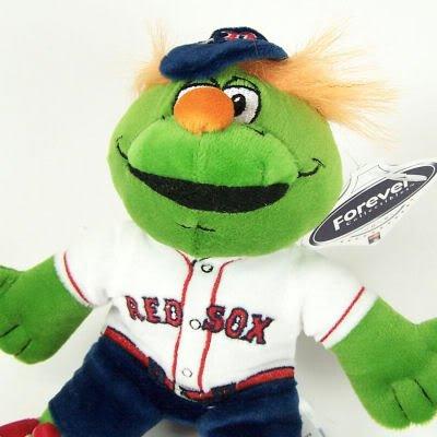 Amazon Com Boston Red Sox Mascot Plush Fenway Wally Sports Fan