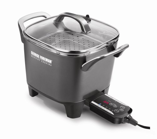 George Foreman RC0010B Smart Kitchen Multicooker