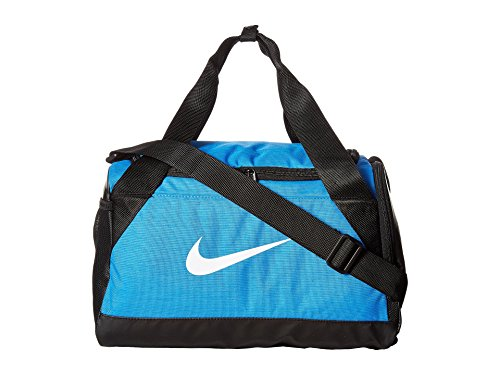 Nike Brasilia 7 X-Small Duffel Bag Light Photo Blue nkBA5432 435