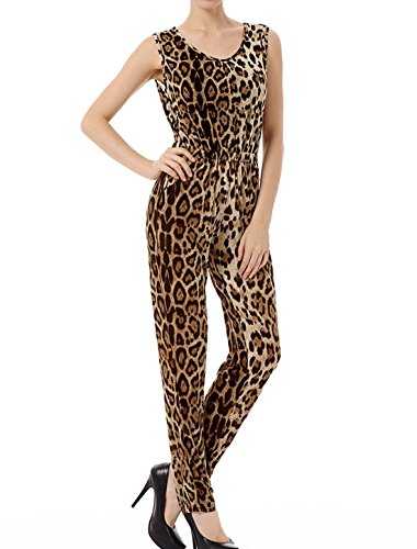 Leopard Print Romper - 1