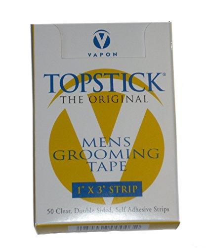 "T150Box Of 50 1""X3"" Strips) Topstick Toupee Tape"