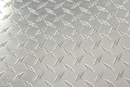 Rvinyl Rtrim Pillar Post Decal Trim for Infiniti M35 2006-2010 Diamond Plate