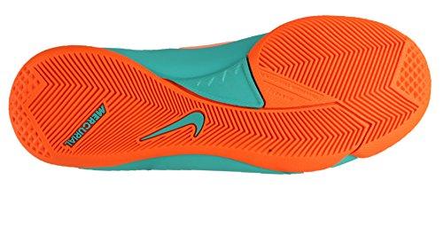 Nike Mercurial Victory III IC Fußballschuhe Kinder aqua/orange