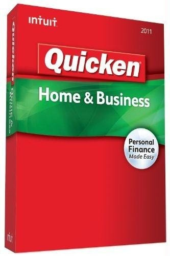Quicken Home & Business 2011 -  Intuit, 413787