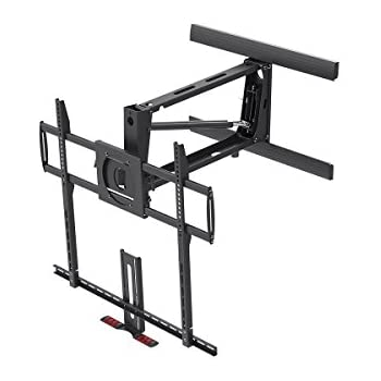 Amazon Com Mount It Fireplace Tv Mount Full Motion Pull