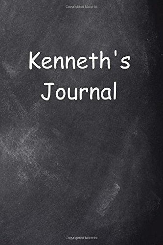 Kenneth Personalized Name Journal Custom Name Gift Idea Kenneth: (Notebook, Diary, Blank Book) (Name Personalized Journals Notebooks Diaries) PDF