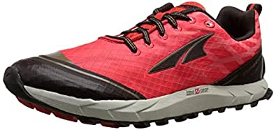 Altra Women's Superior 2 Trail Running Shoe, Poppy Red/Chocolate, 5.5 M US
