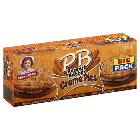 affordable Little Debbie Big Packs 2 Boxes of Snack Cakes  Pastries (PB Peanut Butter Creme Pies)