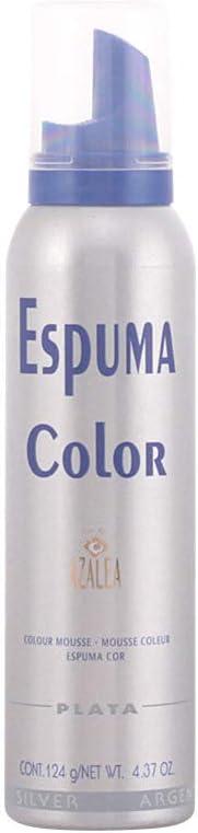 Azalea Espuma Color Plata - 150 ml