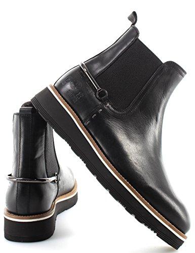 La Italy Buttero Negro Botines Nero Zapatos Made Nuevo Mujeres Martina L4174159 4zr4WqBw
