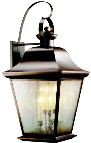 Kichler 9703OZ Mount Vernon Outdoor Wall 6-Light, Olde Bronze