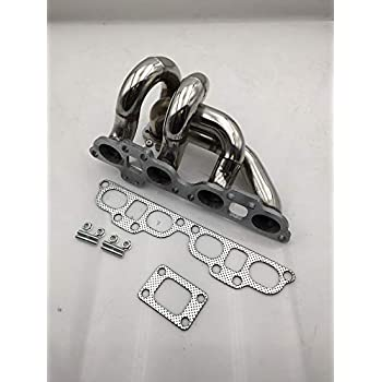 FOR 89-98 240SX S13//S14 SR20DET SR20 T25//T28 STAINLESS TURBO MANIFOLD EXHAUST