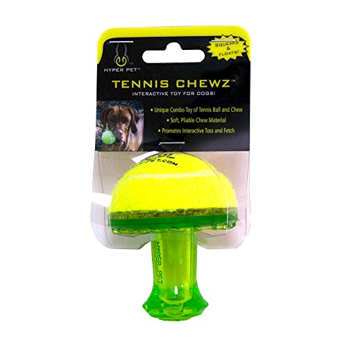 Hyper Pet Tennis Chewz Mushroom Interactive Dog Toy
