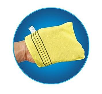Amazing Corea baño masaje exfoliante de Asia toalla de baño toalla de manopla 20 pcs Corea representante marca songwol nuevo: Amazon.es: Hogar