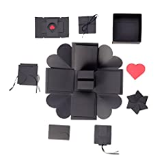 DescriptionThis is a special and creative photo album. Easy to use, as long as it is based on your own DIY ideas, it can give you a satisfactory result. It looks like an ordinary black box, but once you open it, it will be surprising. You can...