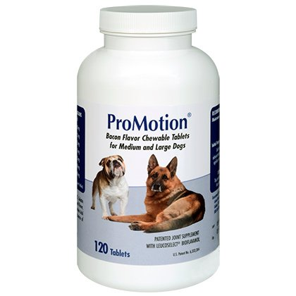 ProMotion For Medium & Large Dogs, 120 Chewable Tablets (Dog 120 Tablets)